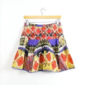 Walter Baker mini high-waist dropped bell skirt S